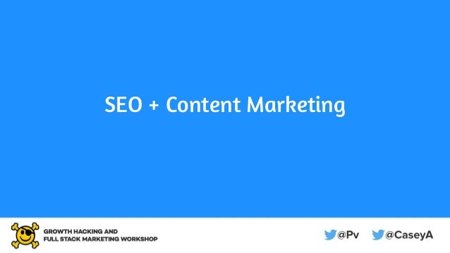 SEO + Content Marketing