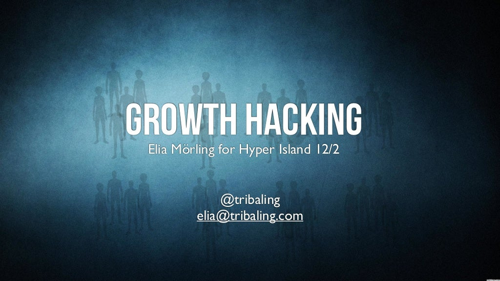 Growth Hacking & Growth Engines