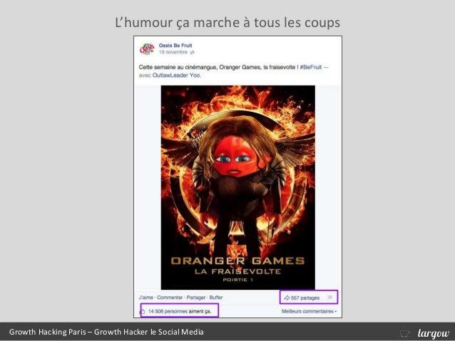 L'humour ça marche à tous les coups Growth Hacking Paris – Growth Hacker le Social Media