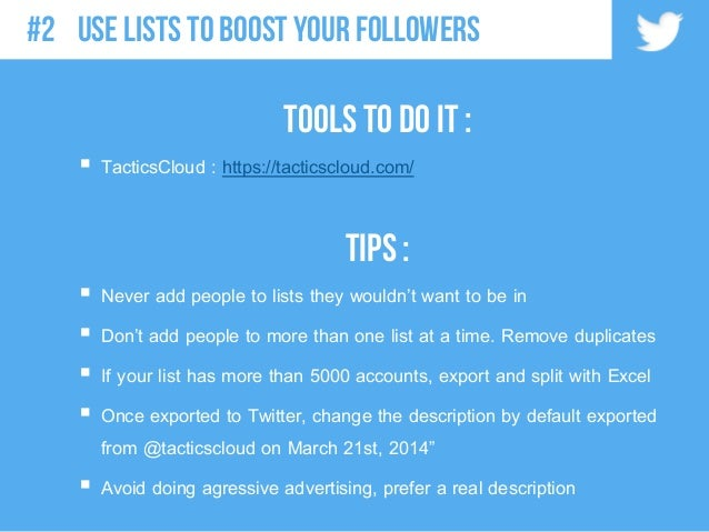 Tools to do it :  TacticsCloud : https://tacticscloud.com/ TIPS :  Never add people to lists they wouldn't want to be in...