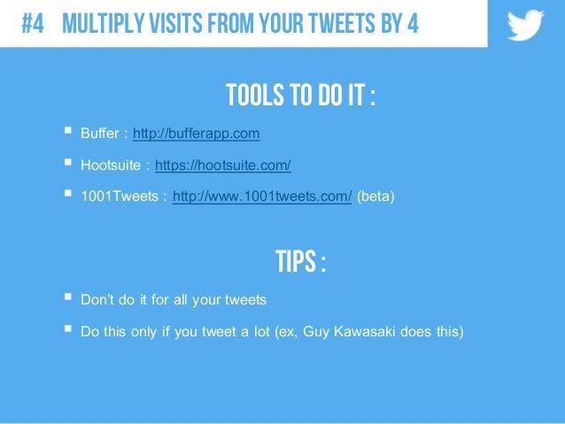 Tools to do it :  Buffer : http://bufferapp.com  Hootsuite : https://hootsuite.com/  1001Tweets : http://www.1001tweets...
