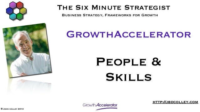 The Six Minute Strategist                      Business Strategy, Frameworks for Growth                       GrowthAccele...