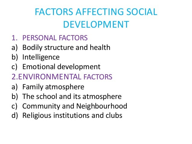 What Factors Affect Intellectual Development in Childhood?