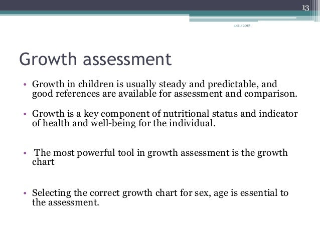 Growth And Development Assessment In Children