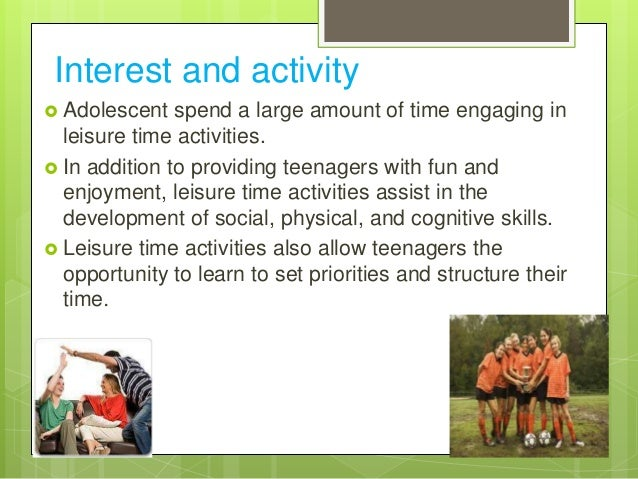 Growth and development of adolescence