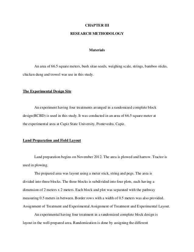 bush sitao thesis