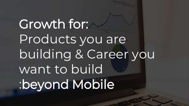Growth Beyond Mobile and Web by Amazon Head of Product
