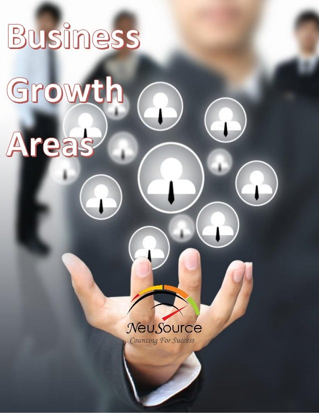 Neusource Business Growth Programme  Business Growth Areas