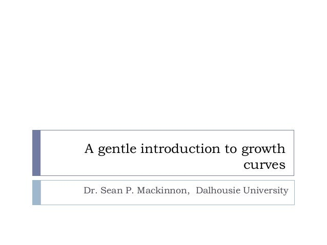 A gentle introduction to growth curves using SPSS