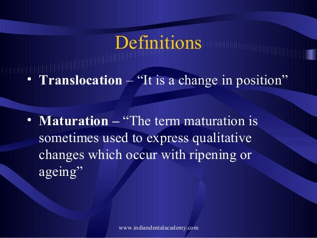 Growth development 1 definitions translocation malvernweather Images