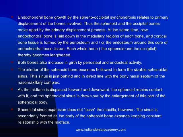 growth & development of cranial basae & vault, Human Body
