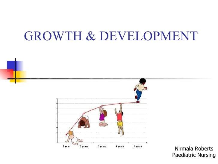 GROWTH & DEVELOPMENT Nirmala Roberts Paediatric Nursing