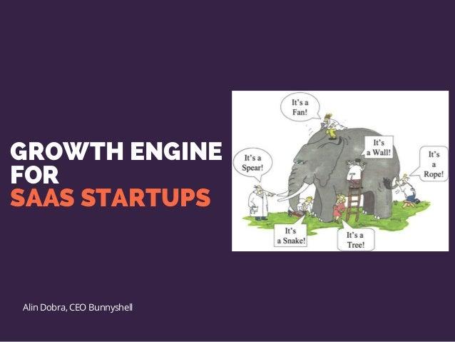 GROWTH ENGINE FOR SAAS STARTUPS Alin Dobra, CEO Bunnyshell