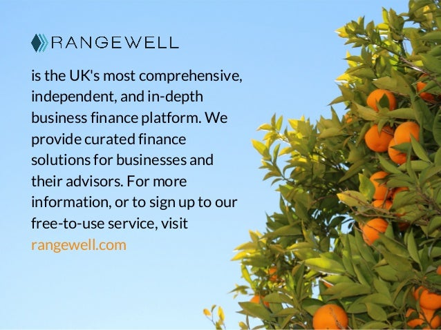 is the UK's most comprehensive, independent, and in-depth business finance platform. We provide curated finance solutions ...