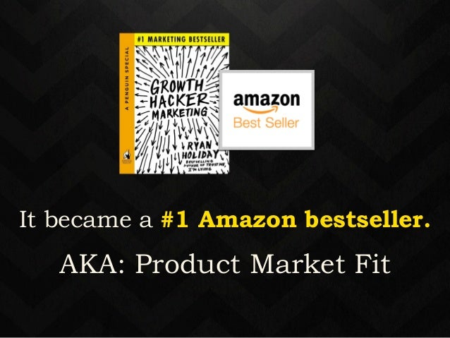 It became a #1 Amazon bestseller.  12-18 months  later a book is born…  and hopefully it excels.  AKA: Product Market Fit