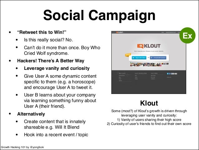 """Social Campaign  • """"Retweet this to Win!""""!  • Is this really social? No.!  • Can't do it more than once. Boy Who  Cried Wo..."""