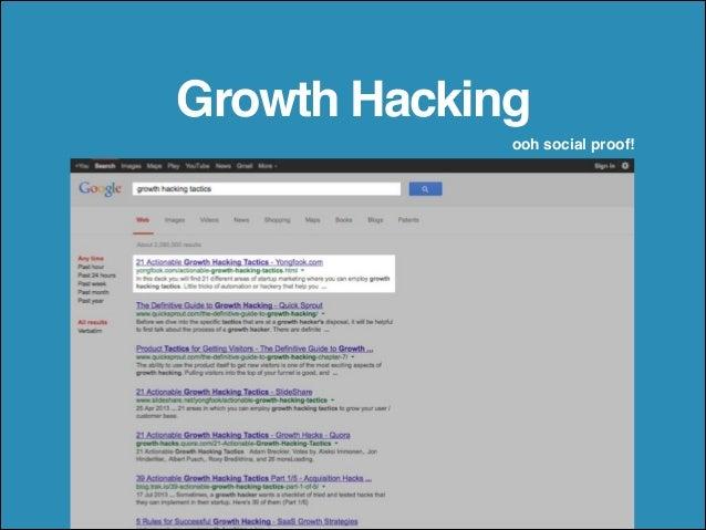 21 Actionable Growth Hacking Tactics Slide 2