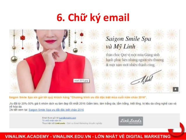 7. Xây dựng email list