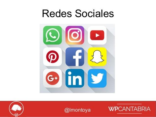 Growth Hacking para WordPress Redes Sociales @lmontoya
