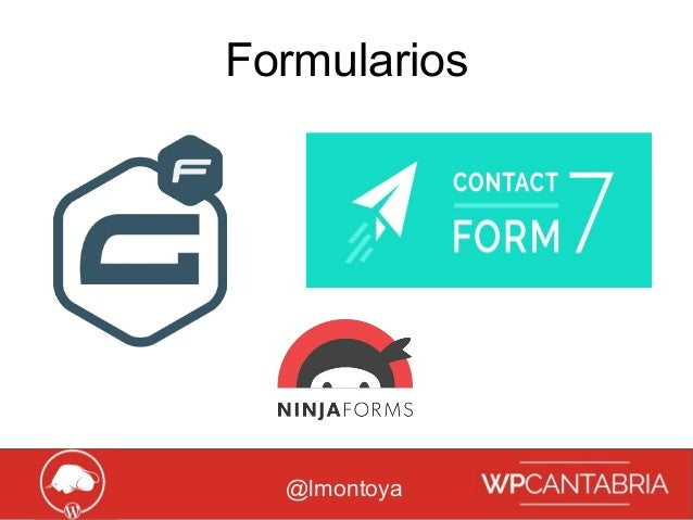 Growth Hacking para WordPress Formularios @lmontoya