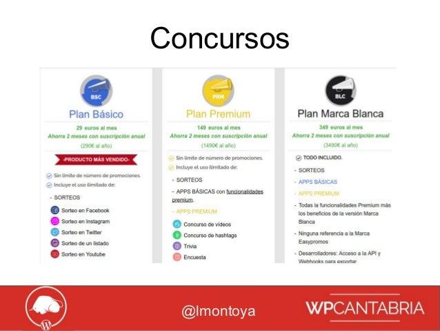 Growth Hacking para WordPress Concursos @lmontoya
