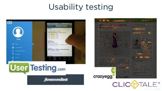 Data & Testing (conversion rate optimization) 4.