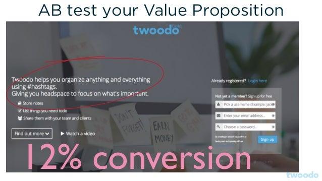 A/B test testimonials (source: conversionxl.com)