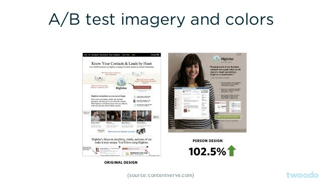 A/B Test Usability