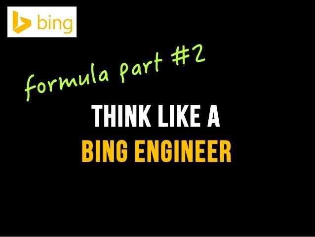 bing engineer think like a