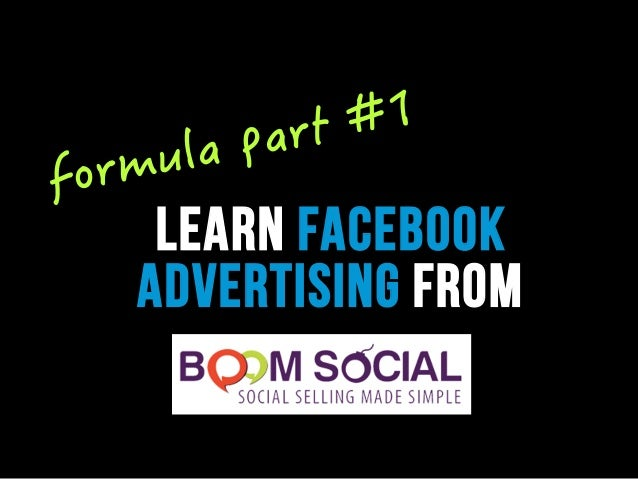 learn facebook advertising from