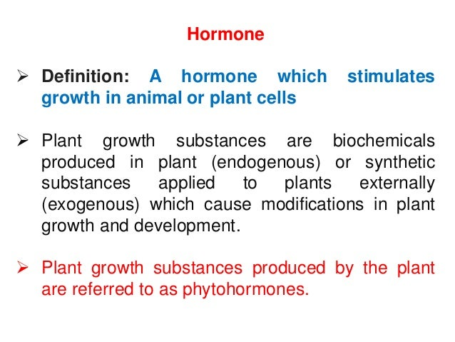 Crop Growth hormone