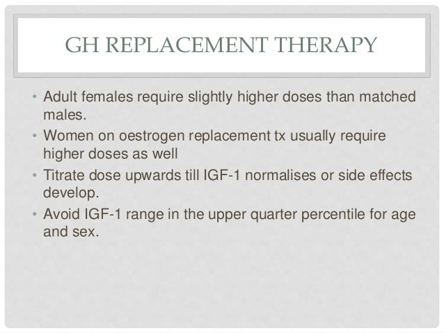 gh therapy adults