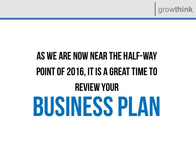 Growthink Business Plan - Growthink business plan template