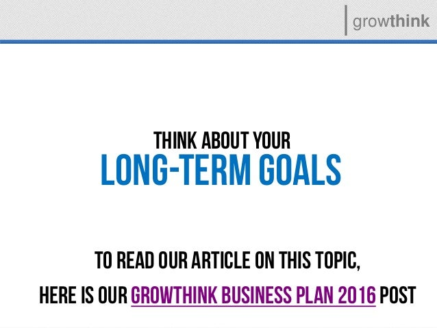 Growthink ultimate business plan