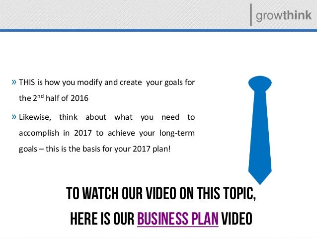 growthink business plan video
