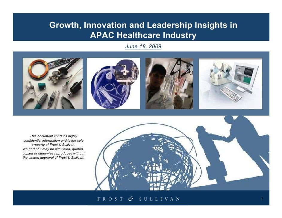 Growth, Innovation and Leadership Insights in                            APAC Healthcare Industry                         ...