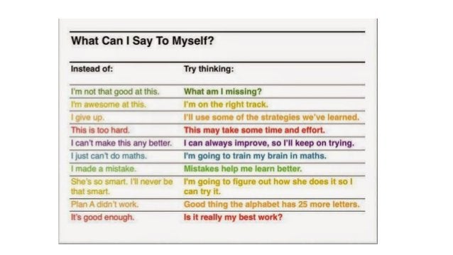 Growth mindset for young kids