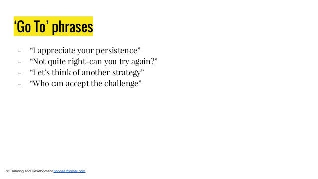 Growth Mindset: in the classroom