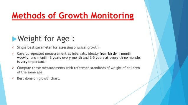 methods of assessing recording and monitoring child development