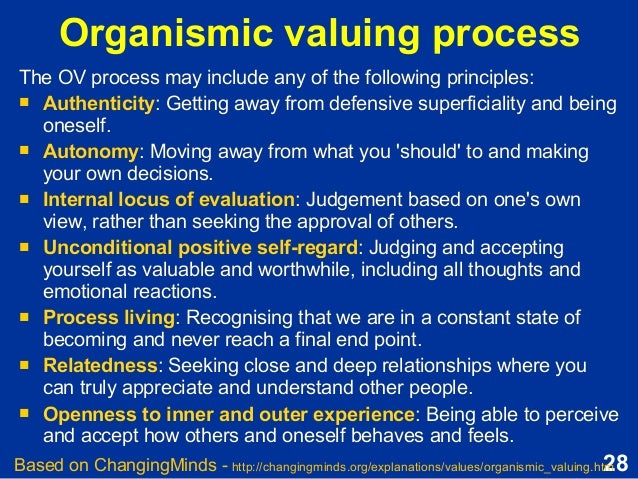 valuing process Psychology definition for valuing process in normal everyday language, edited by psychologists, professors and leading students help us get better.