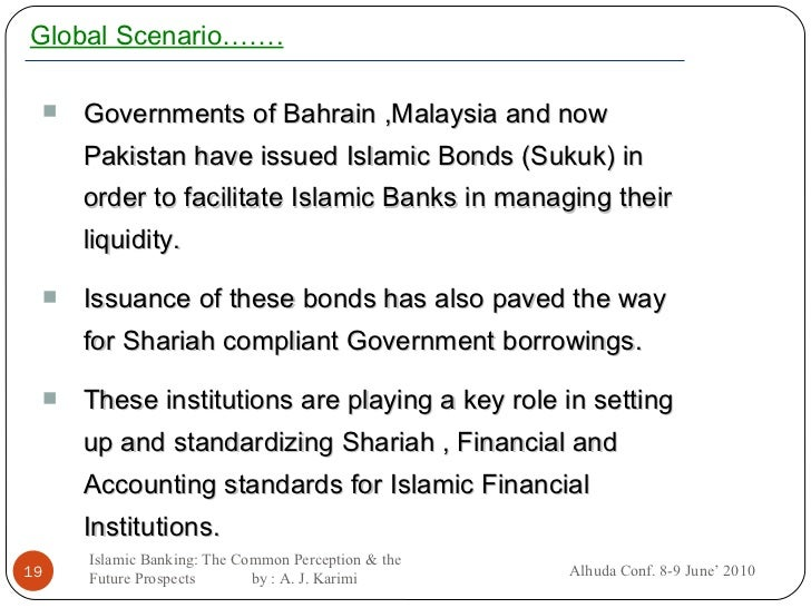 A COMPARATI VE ANALYSI S OF BANKERS' PERCEPTION ON ISLAMIC BANKING IN PAKISTAN