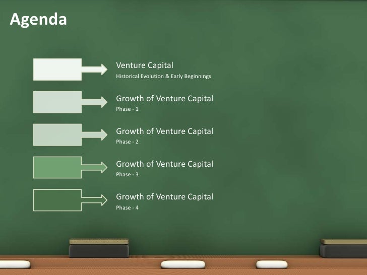 Agenda<br />Venture Capital<br />Historical Evolution & Early Beginnings<br />Growth of Venture Capital<br />Phase - 1<br ...