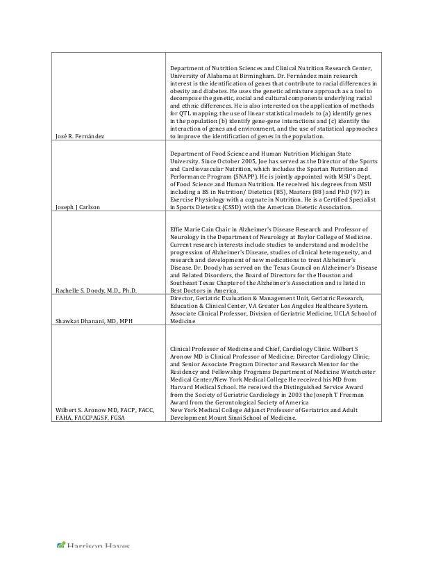 Phd proposal sample nutrition