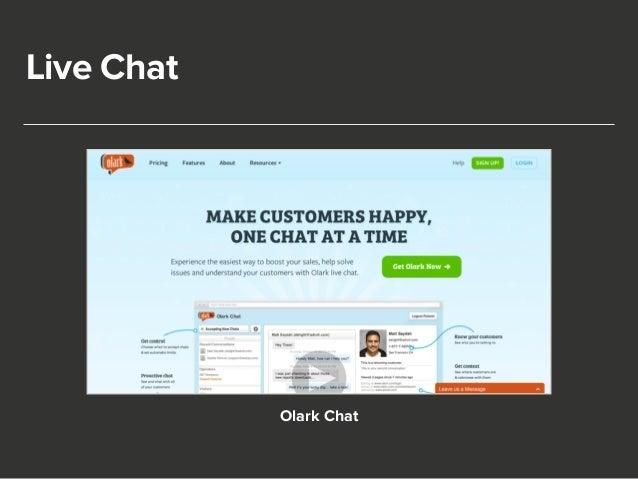 Live Chat  Olark Chat