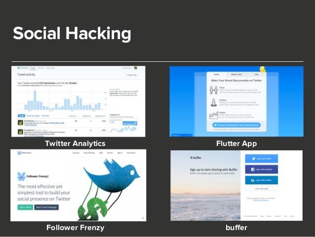 Social Hacking  Twitter Analytics Flutter App  Follower Frenzy buffer