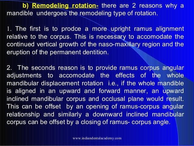 Growth rotation