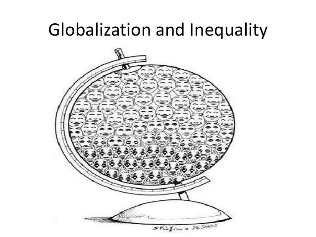 the inequality in globalization Proponents of globalization, who point to the boon that results from the trade in goods and services between countries, argue that global integration.