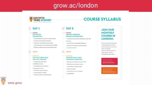 www.grow.ac/london grow.ac/london