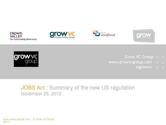 Grow VC Group :: ::                                              www.growvcgroup.com :: ::                                ...
