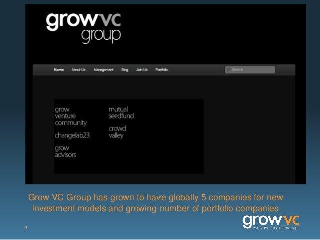 Grow VC Group Presentation Slide 3